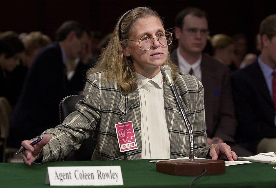 Colleen Rowley testifies