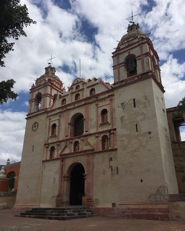 The Church of San Jerónimo, Tlacochahuaya