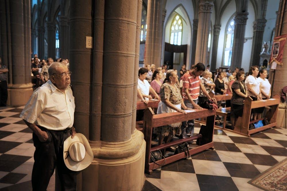Catholic faithfuls