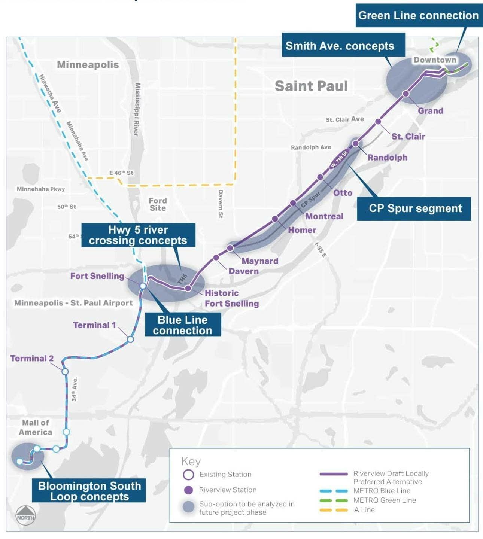 Riverview Corridor pre-project development study