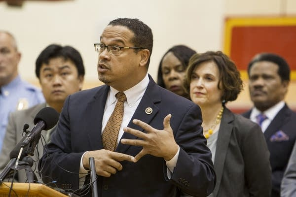 Keith Ellison calls for the occupation to end.