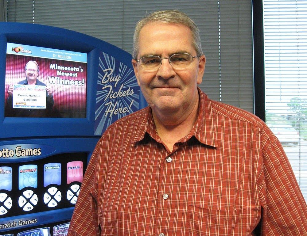 Lottery Director Ed Van Petten