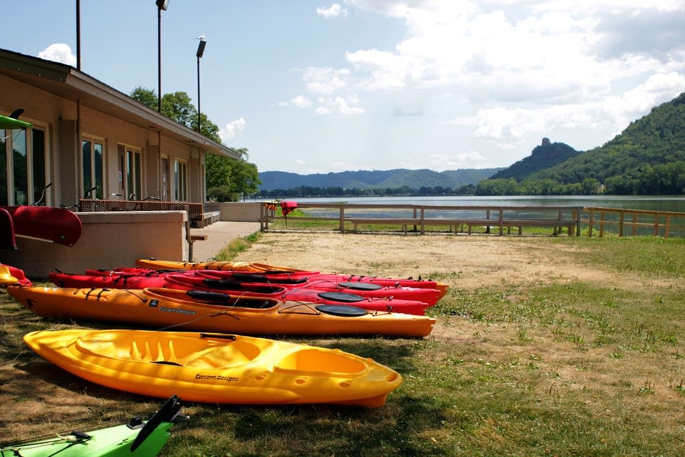 Lake Winona kayaks