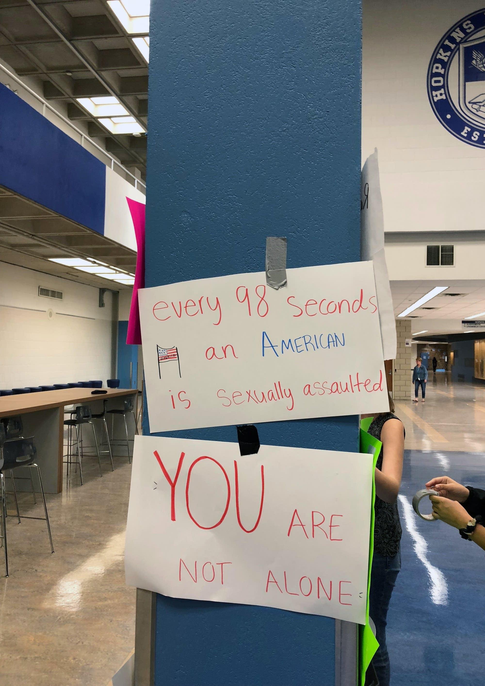 Hopkins High School sit-in