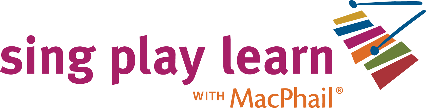 Sing Play Learn with MacPhail logo