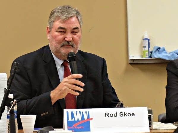 DFL incumbent Senator Rod Skoe