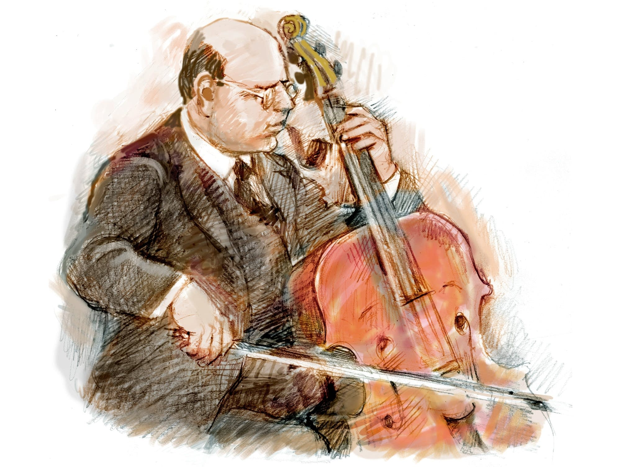 "Pablo Casals plays cello in ""A Cello Named Pablo."""