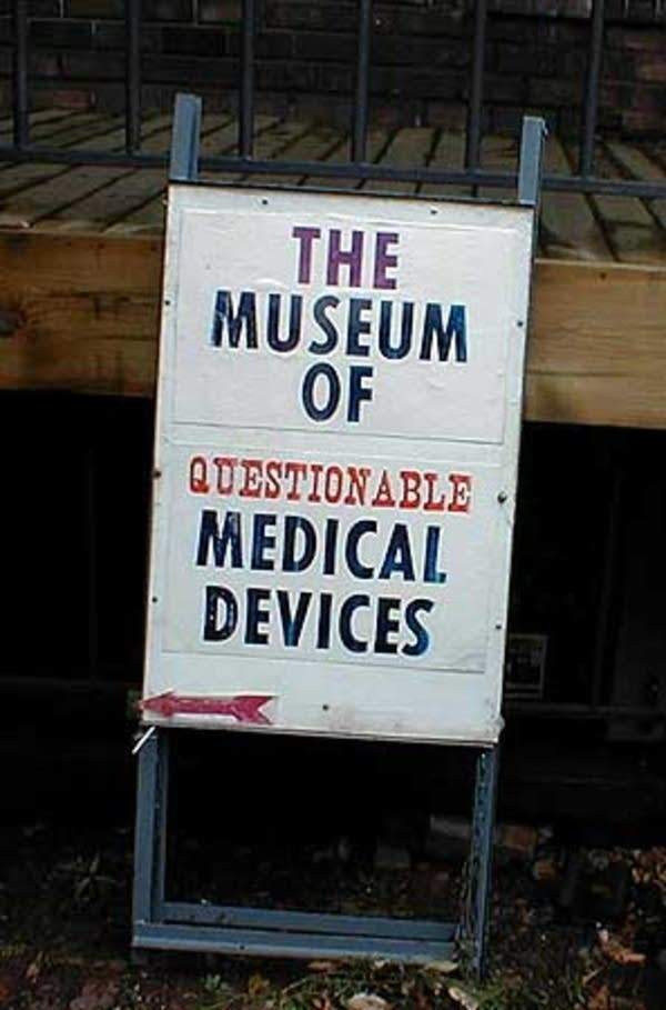 The Museum of Questionable Medical Devices in Mpls