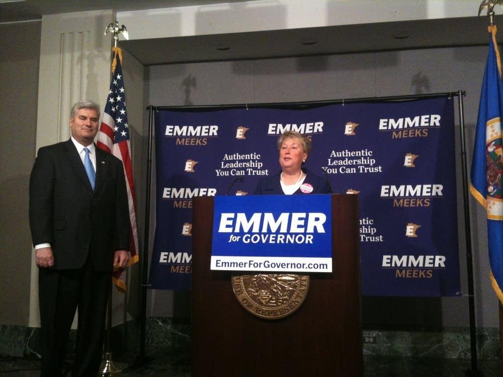 Tom Emmer, Annette Meeks
