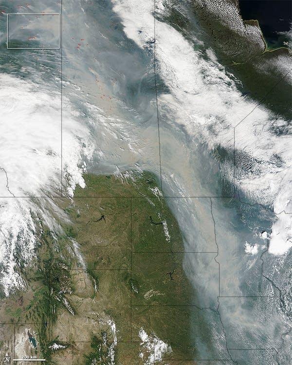 Canada smoke plume June 29 2015