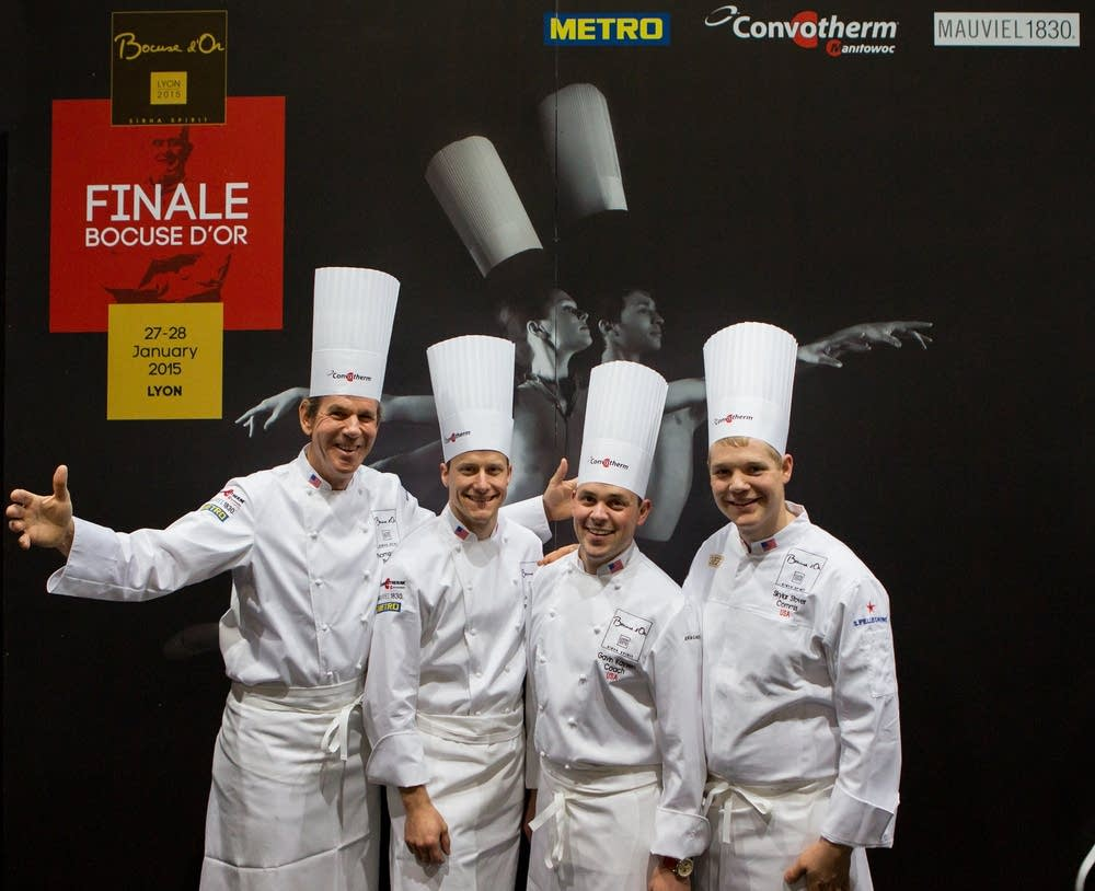 Team USA at the Bocuse d'Or