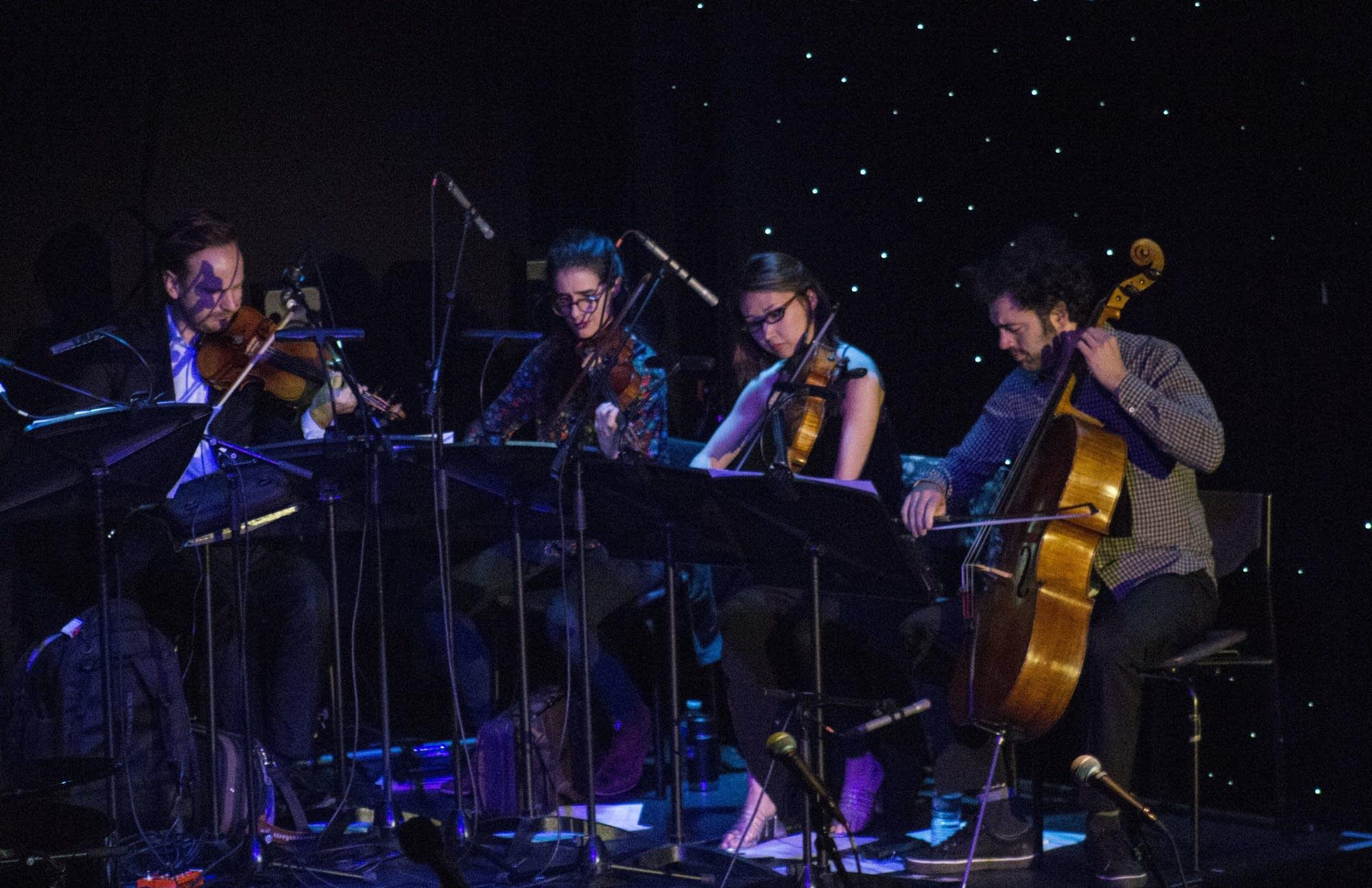 Edinburgh - 10 - The Knights Quartet