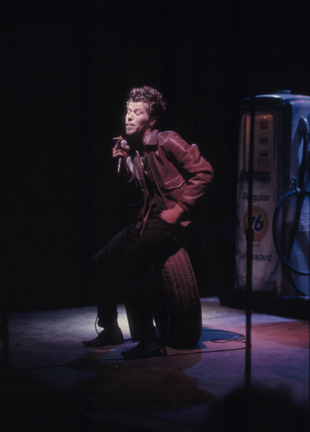 Tom Waits performs on 'Austin City Limits' in 1979