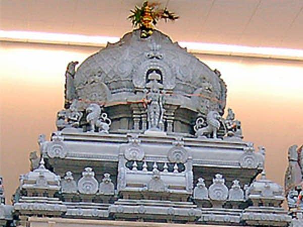 Vishnu temple detail