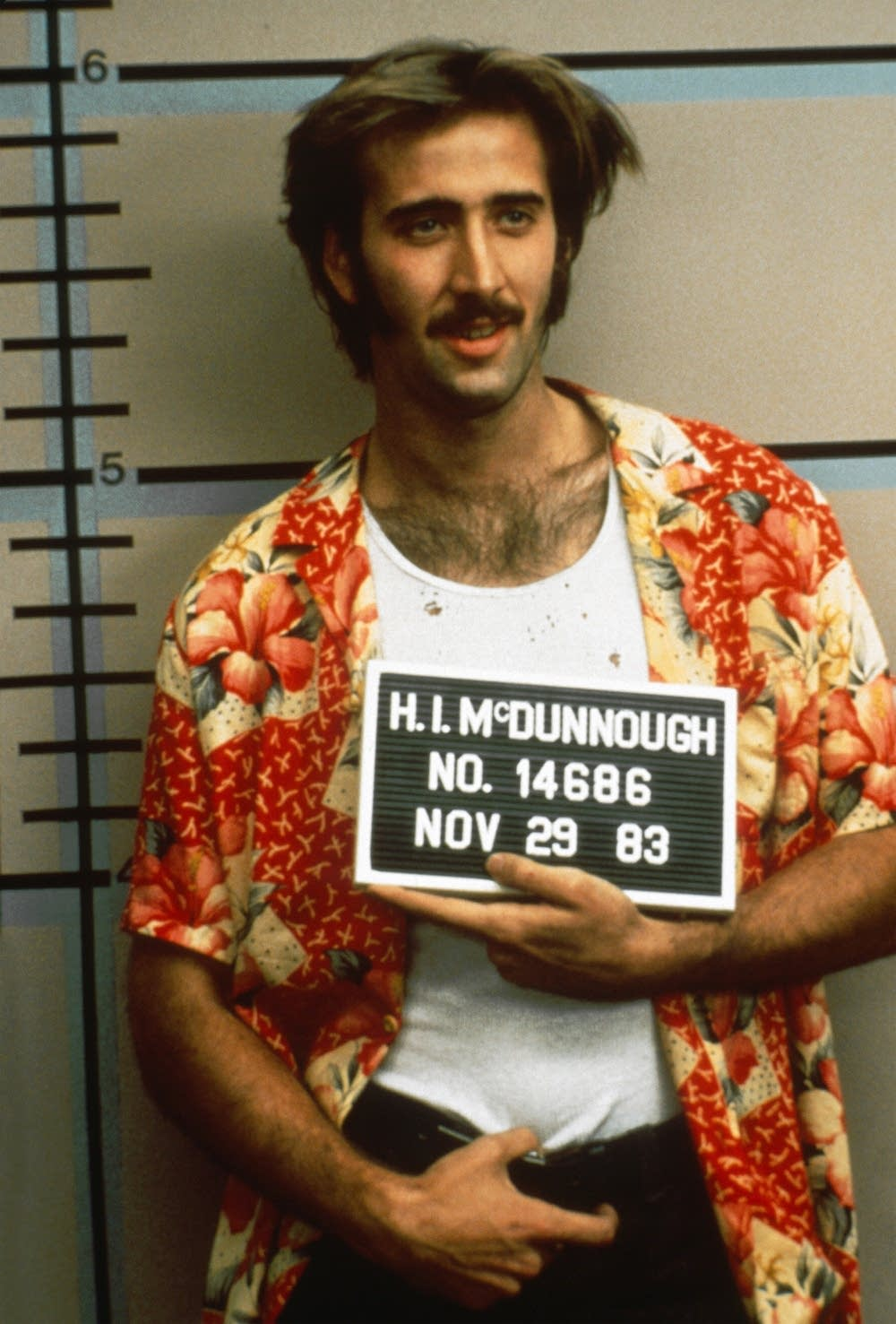 Nicolas Cage in 'Raising Arizona'