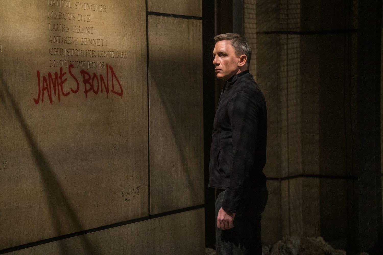 Daniel Craig stars as James Bond in 'Spectre'