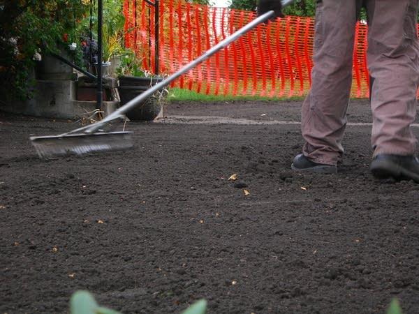 Clean topsoil