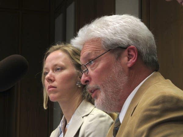 Michael Caron and Christina Morrison