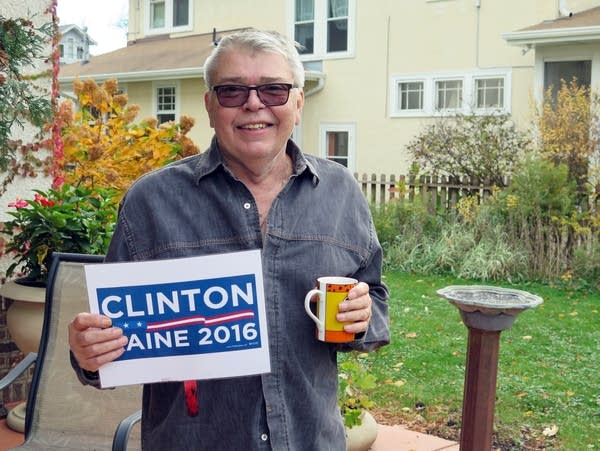 Curtis Olson, 72, is a Clinton supporter.