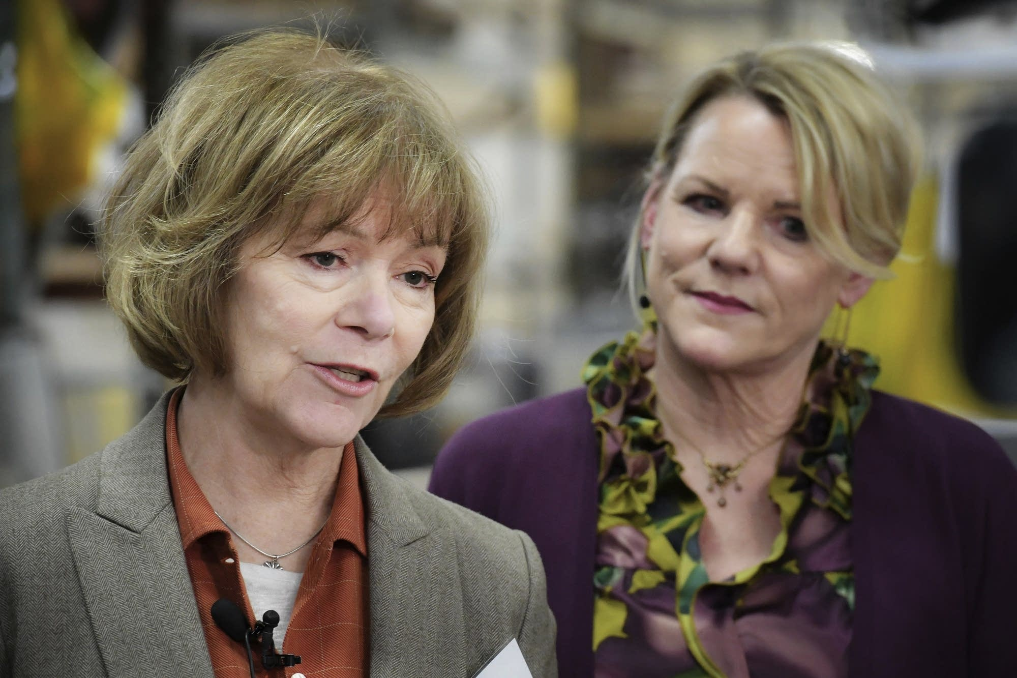 Tina Smith Makes 1st Stop In Twin Cities As Senator