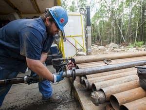 Exploratory drill site