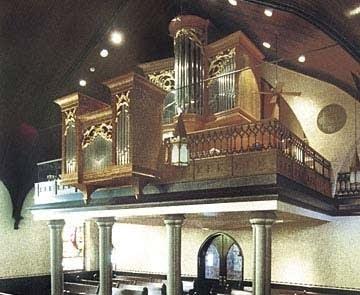 1979 Andover organ the Church of the Epiphany, Danville, VA