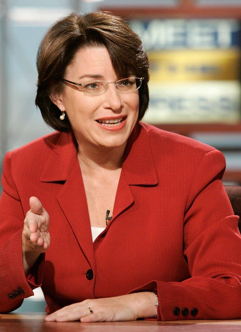 Sen. Amy Klobuchar (DFL-Minn.)