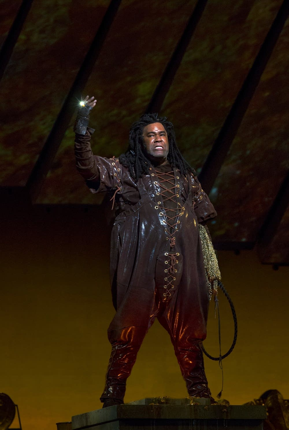 Eric Owens as Alberich in Das Rheingold