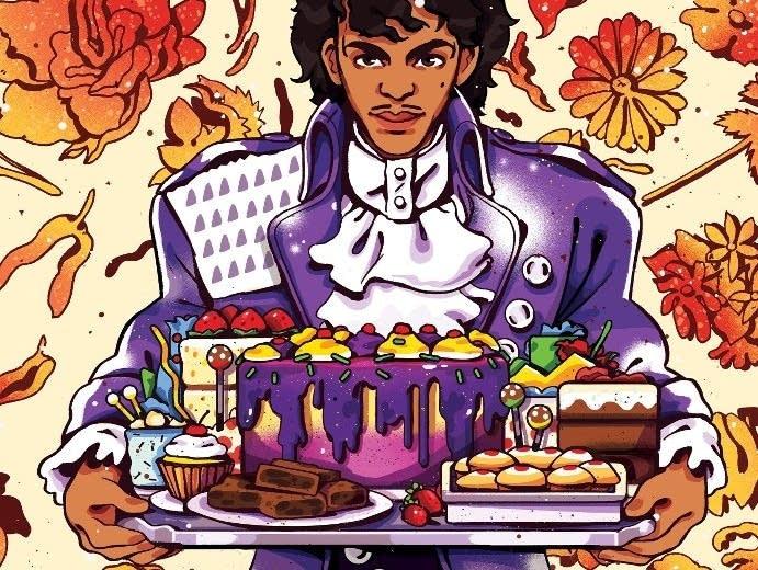 'Little Red Velvette: Prince-Inspired Baking at Home.'