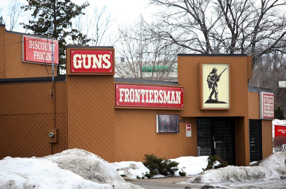 Frontiersman  gun shop