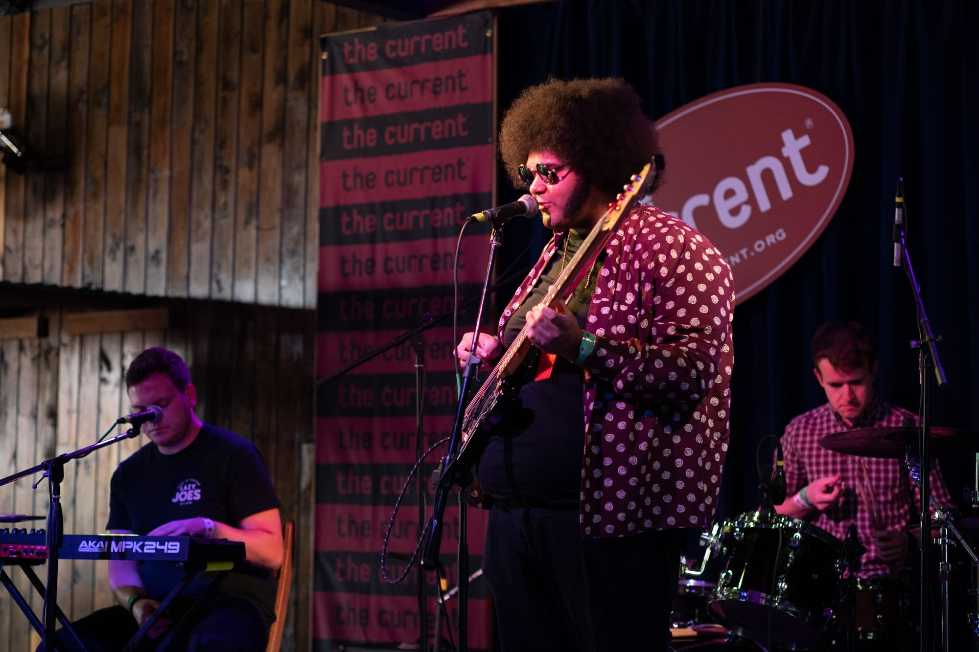 Dylan Cartlidge performs at The Current Day Party during SXSW 2019