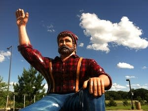 Paul Bunyan statue, Brainerd Welcome Center