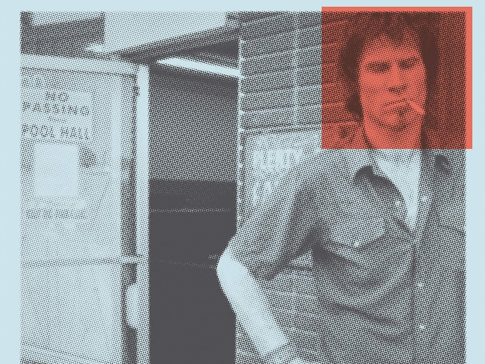 Mark Lanegan, 'Sing Backwards and Weep' book cover detail.