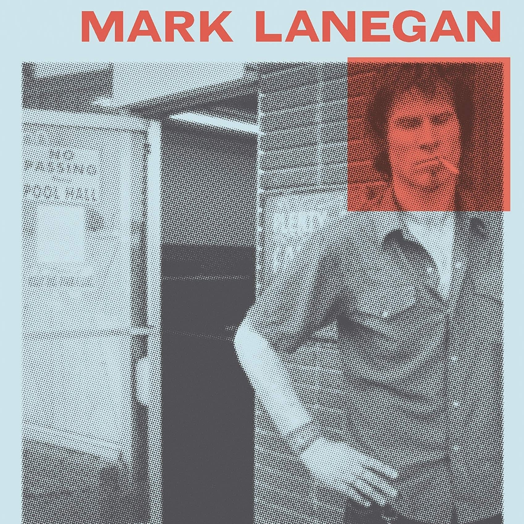 Mark Lanegan, 'Sing Backwards and Weep' book cover detail.