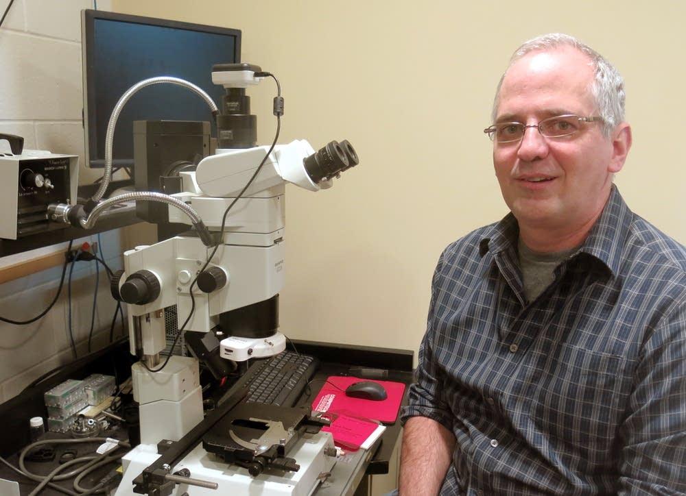 USDA ARS cryobiologist Joe Rinehart