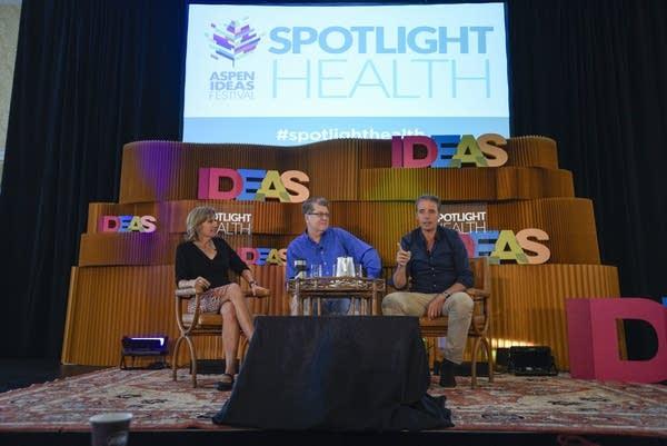 Suzanne Jones, Steve Clemons and Dan Buettner discuss happiness.