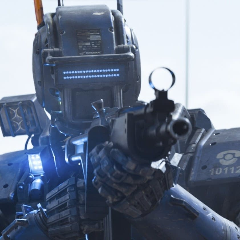Chappie is a police droid