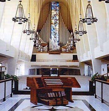 1989 Blackinton organ at the First United Methodist Church, San Diego, CA