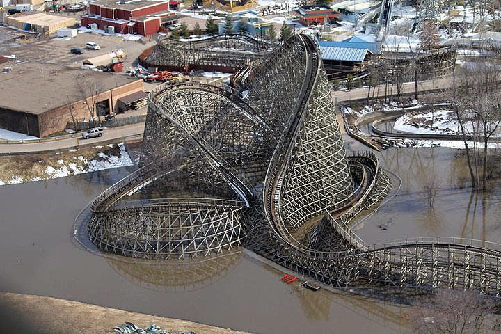 Renegade roller coaster