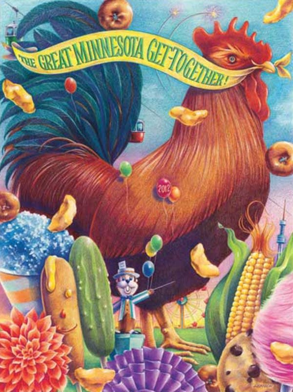2012 State Fair poster