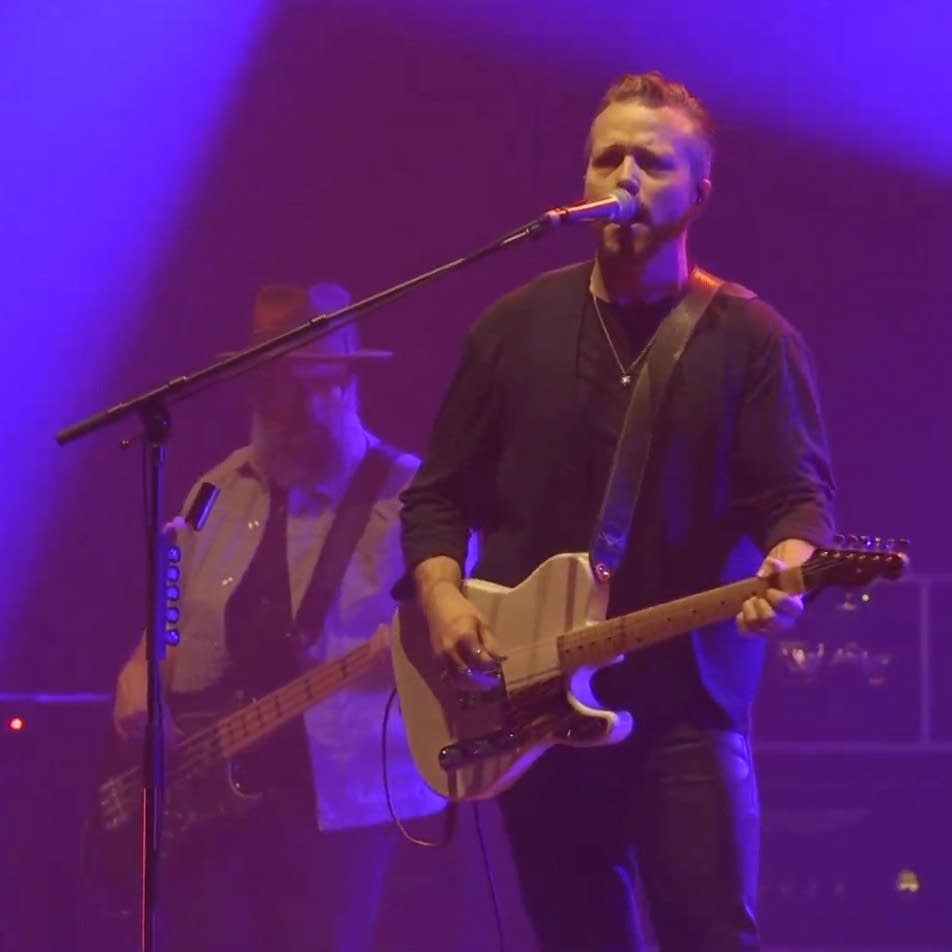 Jason Isbell performs at the Armory in Minneapolis
