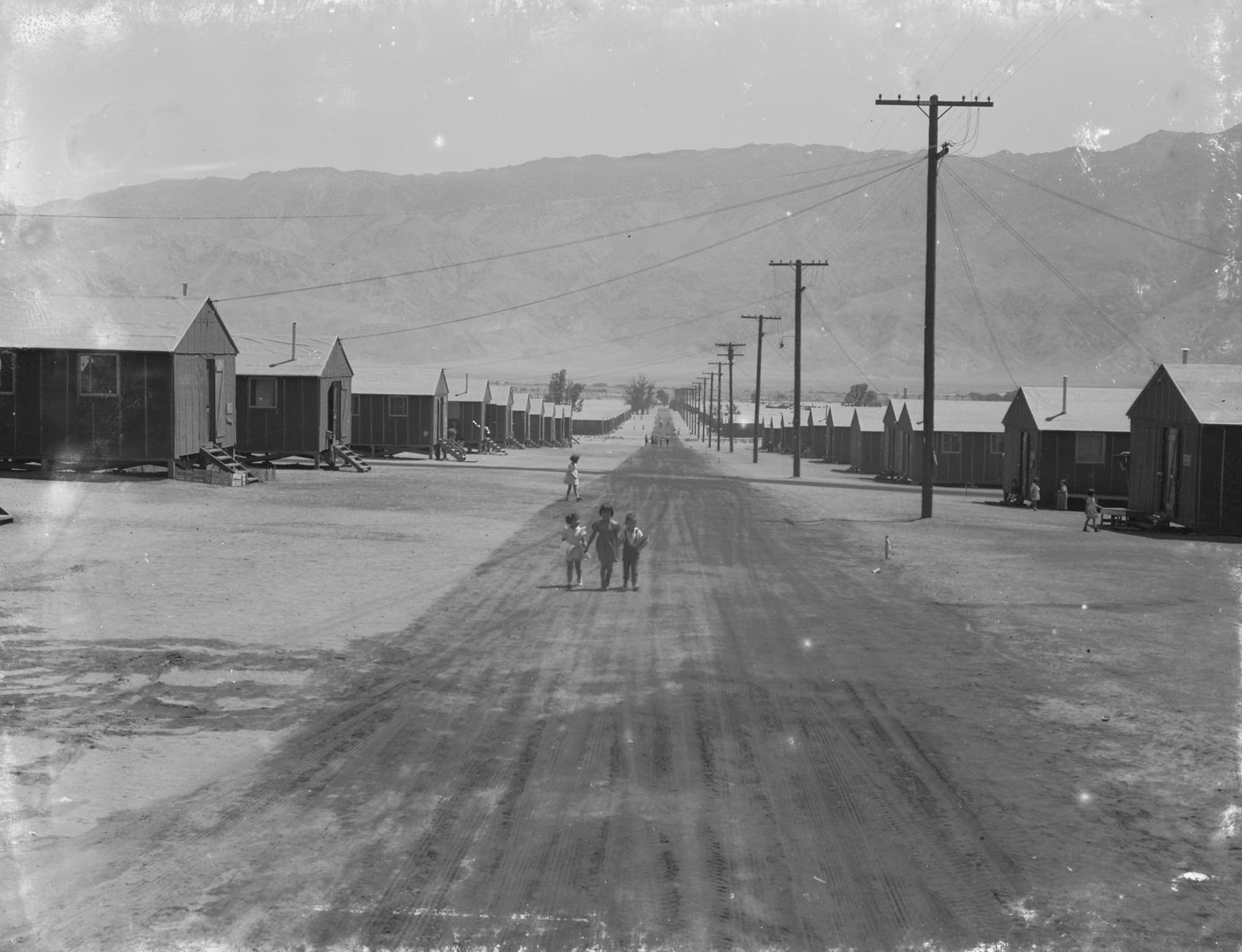 Manzanar Relocation Center, Inyo Mountains