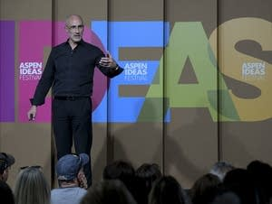 Arthur Brooks talking about happiness at the Aspen Ideas Festival.