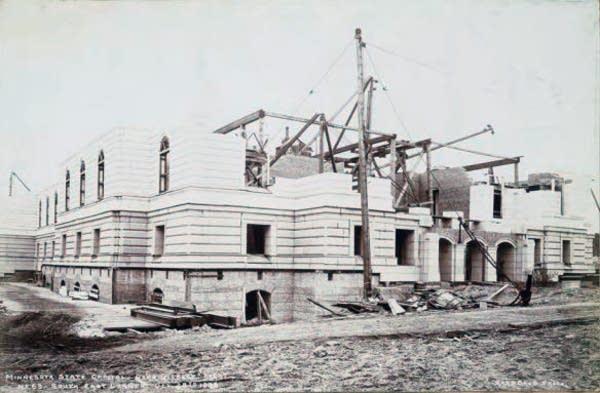 Capitol construction, Oct. 28, 1898