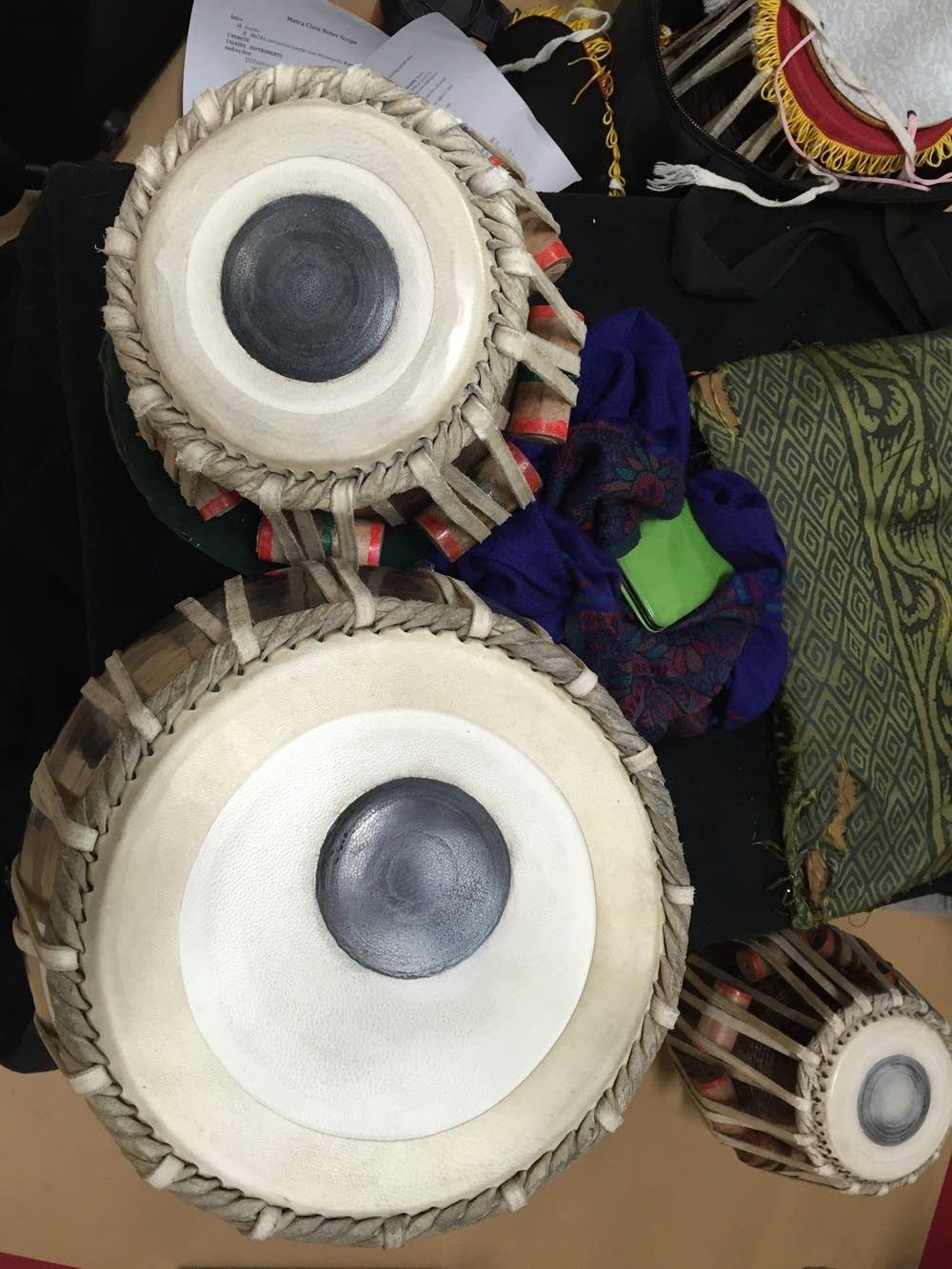 tabla close ups