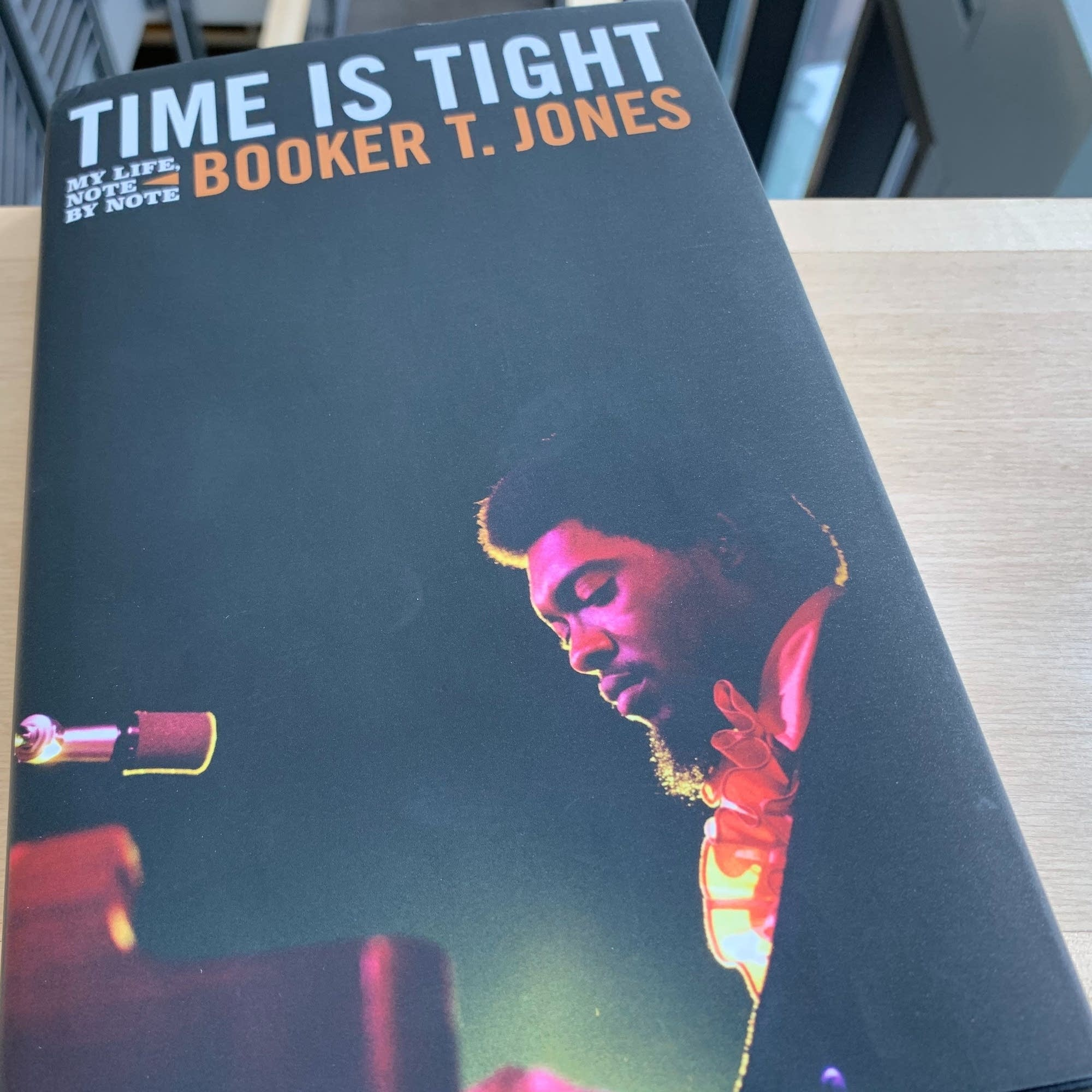 Booker T. Jones's memoir 'Time is Tight.'
