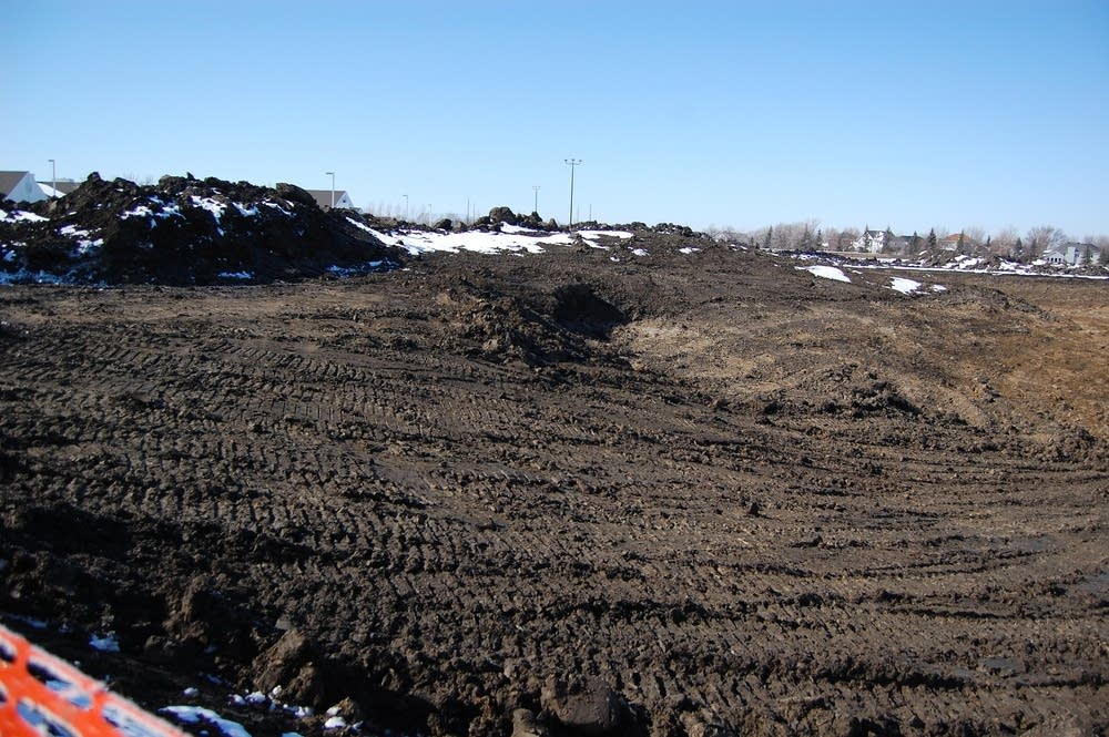 Pit near Fargo elementary school