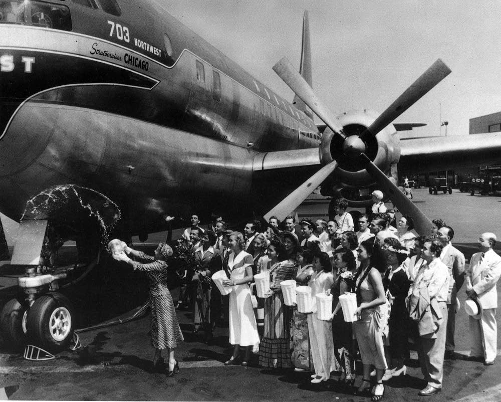 NWA Boeing Stratocruiser