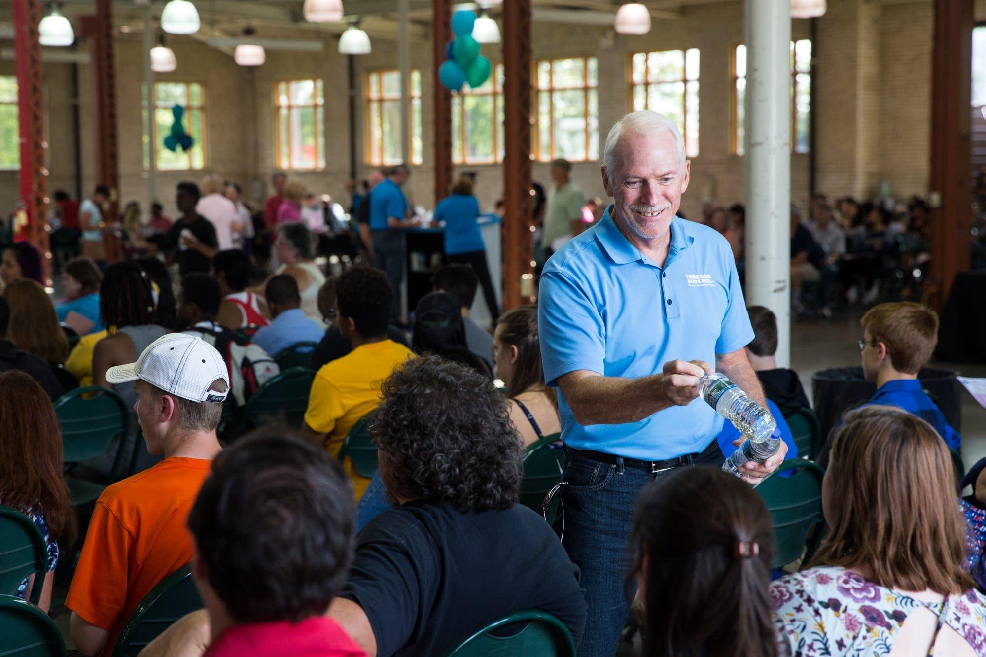 Minnesota State Fair Executive Vice President Jerry Hammer