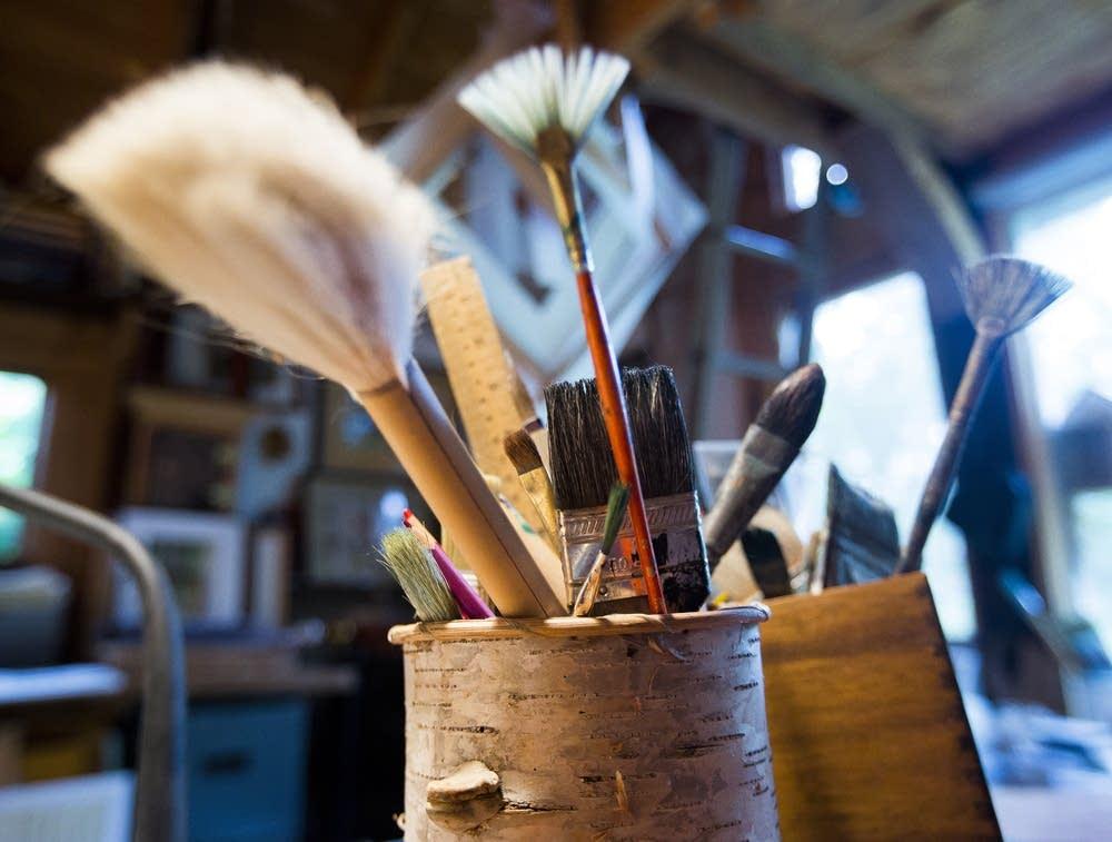 Gawboy's brushes